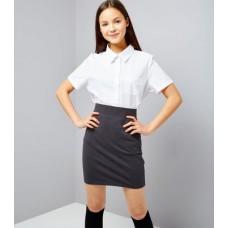 Fusta gri uniforma scoala