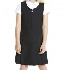 Sarafan bleumarin uniforma scoala