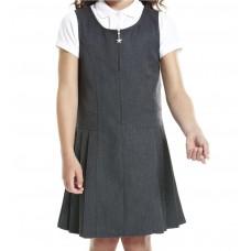 Sarafan gri uniforma scoala